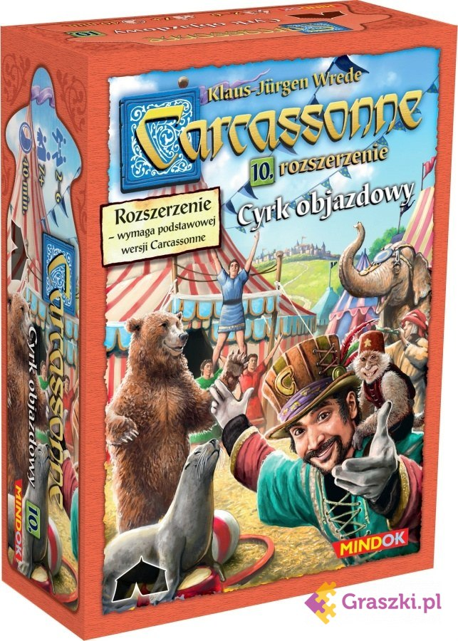 Carcassonne: Carcassonne: Cyrk Objazdowy cz.10 (druga edycja polska)